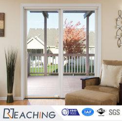 UPVC/двери из ПВХ пластика сдвижной двери стеклянные двери с Ламинированное стекло