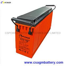 Тонкий Cspower Гелиевый аккумулятор для телекоммуникационных/солнечной/UPS 12V 200Ah