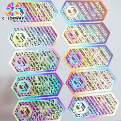 レーザーRefletive BOPPのホログラフィックラミネーションのフィルムの付着力のホログラムのステッカー