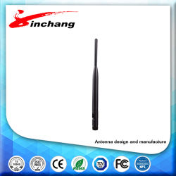 Alta calidad de 2.1GHz~2.4GHz antena de goma de giro de la WLAN/WiFi antenas externas