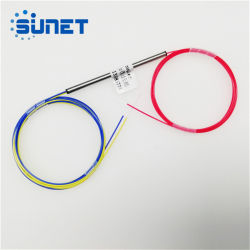 Stahlgefäß-Faser OptikFbt Koppler mit Sc/APC Verbinder