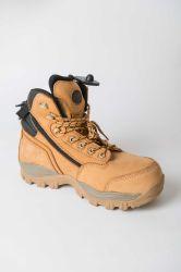 挿入本革の鋼鉄つま先作業安全ブート作業安全靴をハイキングする冬