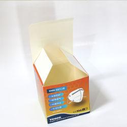외과 N95 가면 의학 처분할 수 있는 판지 가면 상자