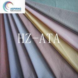 Non Tissu de coton stretch fils teints Vérifier tissu Poplin Shirt