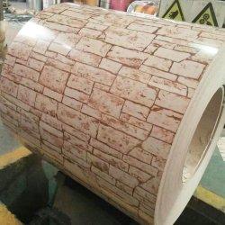 벽돌색 목재 그레인 카무플라주 무늬 컬러 코팅 PPGI 공장 가격