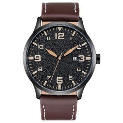 A fábrica curtidas Vegan grandes homens homem moderno relógio de pulso do couro