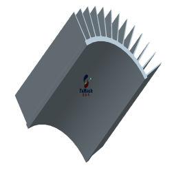 Verdrängte Industrie 6063 T3/T8 Aluminiumstrangpresßling-Kühlkörper-Aluminium-Profile