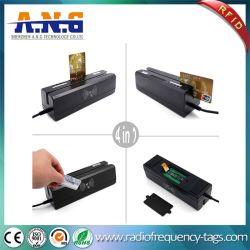 Cartões de tarja magnética e 13.56MHz Smart Card Leitor RFID Combo Writer