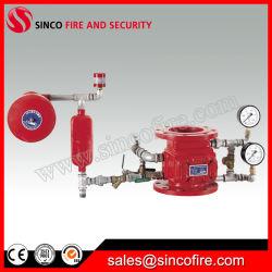 Clapet anti-retour d'alarme humide pour le système de lutte contre l'incendie