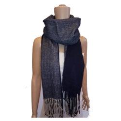 Senhora Fashion e sólido para tricotar Herryingbone lenço manta tecida conjunta
