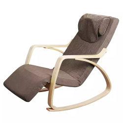小さい電気Shiatsuの振動マッサージの椅子完全なボディ熱のかわいい動揺の練る振動小型椅子のマッサージ