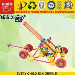 Modelo de automóvel de blocos de construção plástica de brinquedos educativos, melhor presente para as crianças