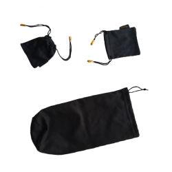 De terciopelo de microfibra Toallas Limpieza gafas de sol y bolsa de tela, las joyas de la bolsa de cordón y funda de teléfono