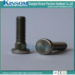 Acier inoxydable A4-80 316 Machine moleté plat vis de fixations de l'automobile