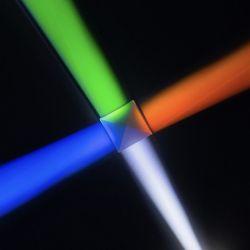 combinatrice di RGB del prisma di 10*10mm o prisma dicroica trasversale del X-Cubo del divisore