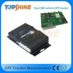 이중 카메라 이중 SIM 카드 글로벌 GPS 트래커 충돌 센서