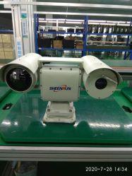 Sensor com dupla tecnologia IP PTZ da câmara de imagens térmicas (SHR-VLV1000CADERNETA104R)