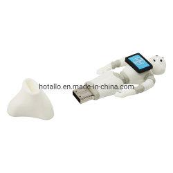 شكل خاص مخصص لرسم الخرائط النقل محرك أقراص USB فلاش PVC ناعم في تصميم العميل
