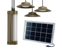 Casa de baixo custo Utilize 3*2W luzes LED de iluminação Solar System Kit//Luz de LED