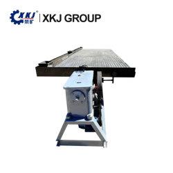 Schwerkraft Wilfley nasses 6s den Tisch rüttelnd, der Chrom-/Zinn-/Kupfer-/Wolfram-/Goldsand-Bergbau-rüttelnden Tisch-Preis konzentriert