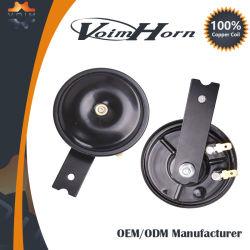 Two-Tone 12V 110dB son électrique petit disque de signal avertisseur sonore