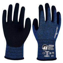 Besnoeiing A2 18 Handschoenen van het Werk van de Deklaag van het Schuim van het Nitril van de Maat besnoeiing-Bestand Zandige