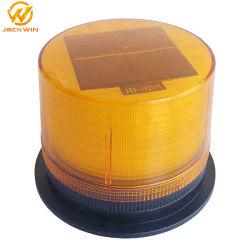 高い明るさの太陽トラフィックの道の警報灯の点滅の太陽合図の光4 LED標識のストロボの警報灯