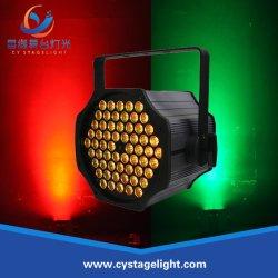 단계 당 점화 60PCS 3W RGB 3in1 세척 동위 LED