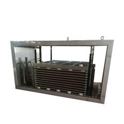 물고기 돌풍 새우 IQF 빠른 기계 선반 수평한 냉각 유압 접촉 격판덮개 냉장고