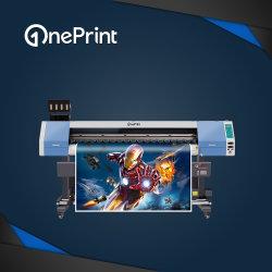 Экологически чистых растворителей Oneprint принтер Sj-1600 с Dx5 Dx7 XP600 Tx800 печатающей головки