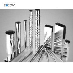 Spirale carré ronde décoratifs fente rectangulaire en acier inoxydable pour tuyau de couleur de la main courante/Rambarde/fenêtre/bureau