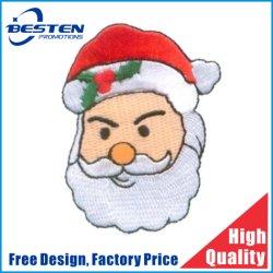 標準的なデザイン鉄は刺繍のクリスマスパッチでまたは縫う