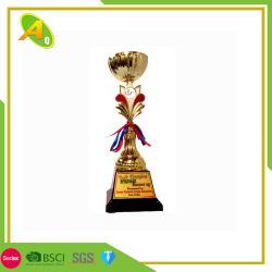 Commerce de gros de la promotion de la résine acrylique Crystal personnalisé Star Sport Prix de la Coupe du trophée de verre pour l'exécution ou de course des cadeaux de l'événement (001)