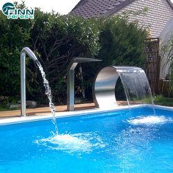 ステンレススチール製の水カーテン(プール用)