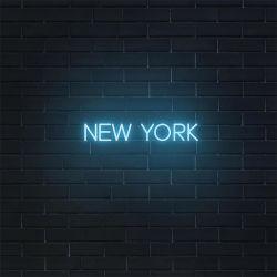 Venda por preço de fábrica na China Custom Barato Business Nova Iorque Sinal Neon LED para decoração