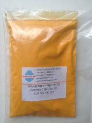 Amarillo transparente Gn Solvent Yellow 93 tintes de cera de aceite de plástico