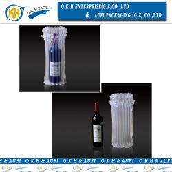 Sacchetto gonfiabile di plastica della colonna dell'aria espresso di protezione del vino