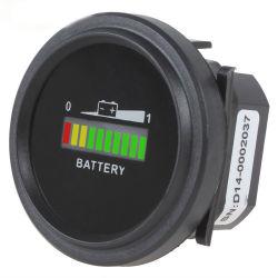12V/24V/36V/48V/72V digital LED indicador de bateria Indicador do dosador para carrinho de golfe estilo automóvel