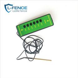 Couleur vert vif 1000-10000V Testeur de tension de clôture d'éclairage au néon