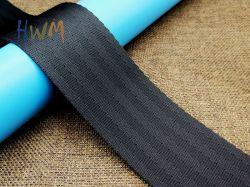 Schwarze Nylon-/Polyester-Sicherheitsgurt-Material-Brücken für Sicherheitsgurt des Kinderwagen-/Korbwiege-/Spielzeug-Autos