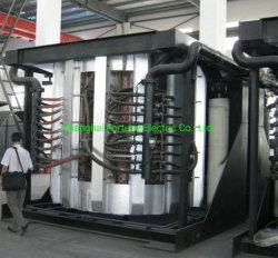 Coreless moyenne fréquence four à induction électrique pour la fusion de ferraille en acier inoxydable en fonte