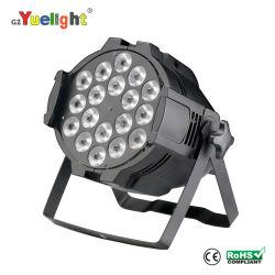 CE LED Display Factory Price 18PCS 5in1 Full Color LED PAR Light für Stage