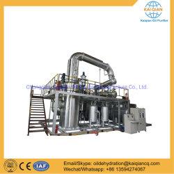 Systeem van het Recycling van de Raffinage van de Olie van de Apparatuur van de Distillatie van de Olie van het Afval van China het Zwarte