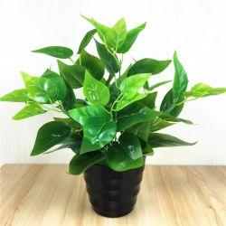 Comercio al por mayor Home plástico decorativo Planta artificial árbol Bonsai para decoración de púbico