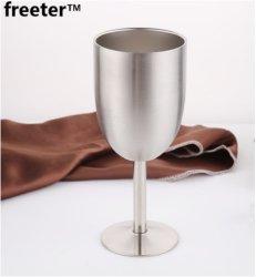 Het Drinken van de Drinkbeker van de Cocktail van de Laag van de Kop van de Auto van de Kop van de Rode Wijn van de Drinkbeker van het roestvrij staal de Auto Dubbele Duurzame Kop van de Auto van het Glas van Waren