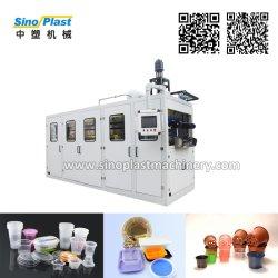 De automatische Plastic Beschikbare Container Thermoforming die van het Dienblad van de Kom van de Kop Makend Machine vormen zich