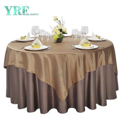 حفلة زخارف طاولة مستديرة ملابس زفاف فريد