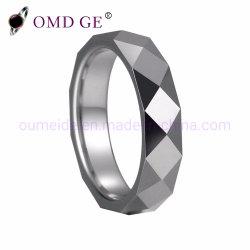 크기 선택 가능 다이아몬드 컷 표면 텅스텐 카바이드 링