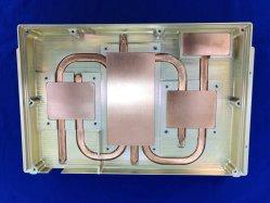 アルミニウムCNC高い発電の上昇温暖気流の解決のためのServalのヒートパイプが付いている機械化脱熱器はんだ