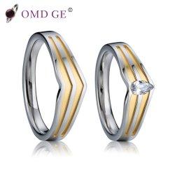 De gouden Reeksen van de Ring van de Juwelen van de Manier van de Juwelen van de Groef